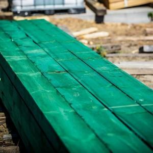 drewno do szkieletów ścian
